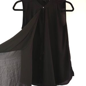 H&M / No Sleeves - Black Blouse
